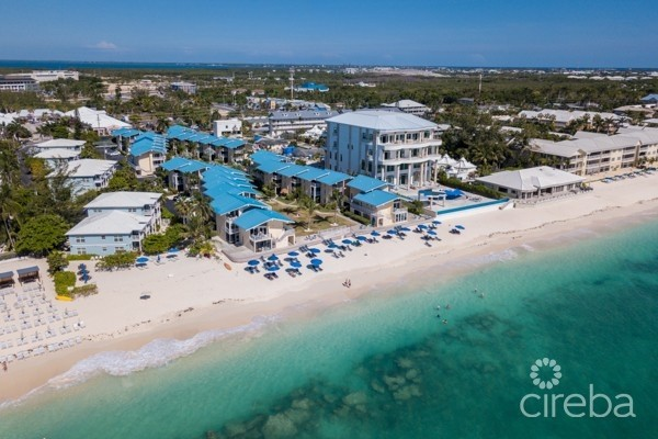 CAYMAN REEF RESORT DOUBLE BEACHFRONT UNITS - Cayman Residential Property for For Sale